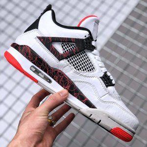 "Air Jordan 4 ""Bright Crimson"" Hot Lava"